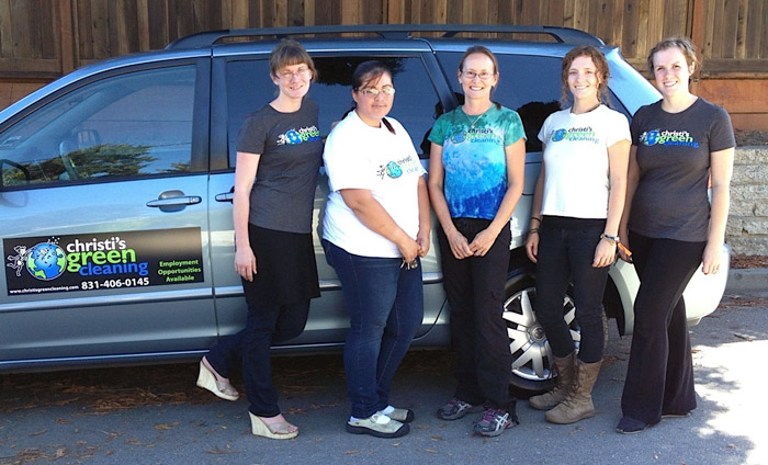 Christi's Green Cleaning group photo