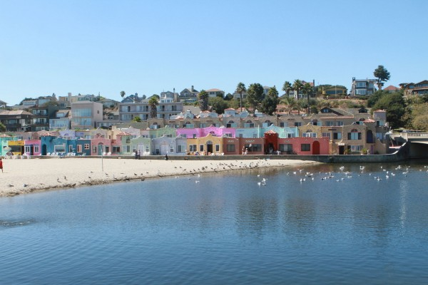 Capitola Village from the water