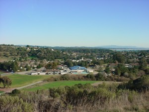 View of Soquel from Anna Jean Cummings Park